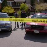Detective Carlton Lassiter's Ford Crown Victoria (right)