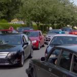 Detective Carlton Lassiter's Ford Fusion Hybrid