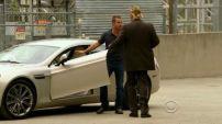 Callen's Aston Martin Rapide