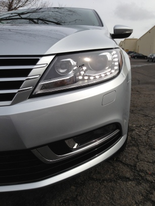 Bi-Xenon headlights with LED day time running lights