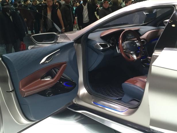 Infiniti QX30 Interior