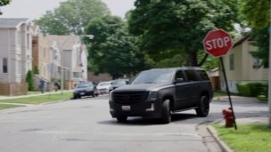 Sgt. Voight's 2015 Cadillac Escalade, the replacement for his 2003 Dodge Durango
